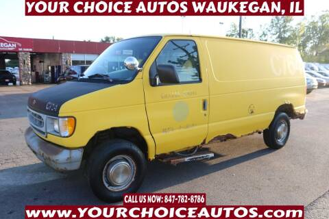 1998 Ford E-250 for sale at Your Choice Autos - Waukegan in Waukegan IL