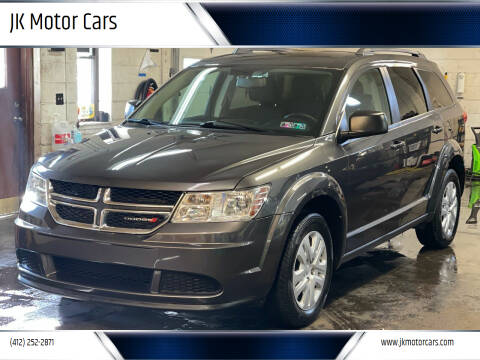 2015 Dodge Journey for sale at JK Motor Cars in Pittsburgh PA