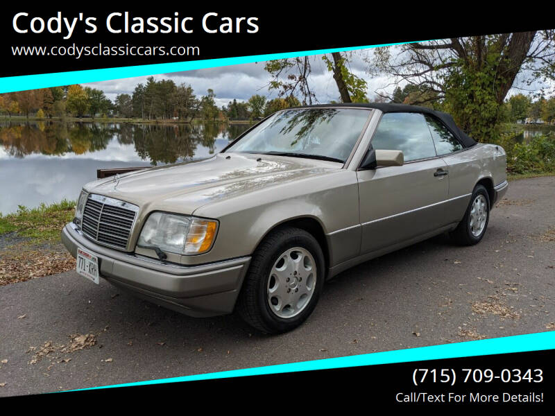 1995 Mercedes-Benz E-Class for sale at Cody's Classic Cars in Stanley WI
