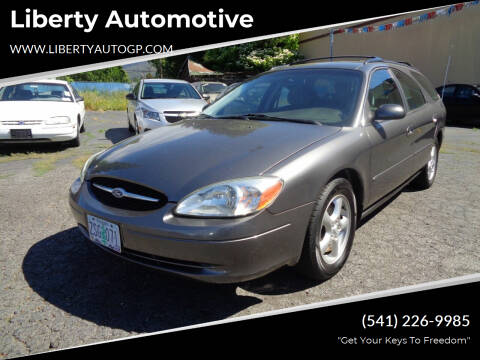 2002 Ford Taurus for sale at Liberty Automotive in Grants Pass OR