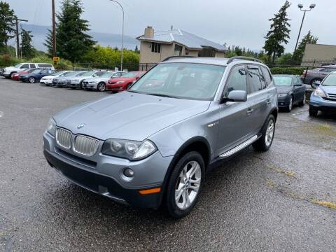 2008 BMW X3 for sale at KARMA AUTO SALES in Federal Way WA