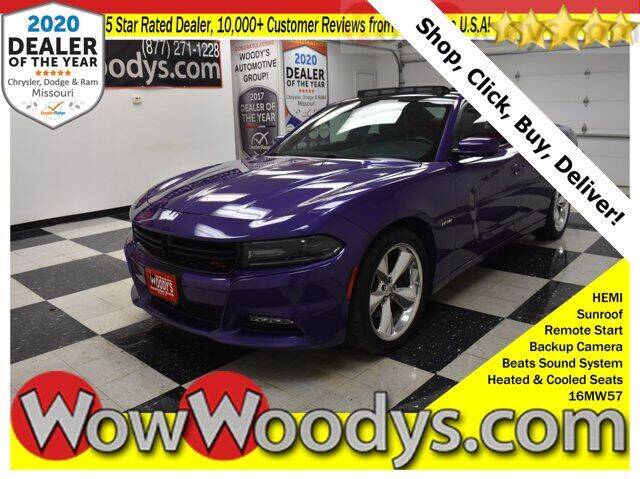2016 Dodge Charger for sale at WOODY'S AUTOMOTIVE GROUP in Chillicothe MO