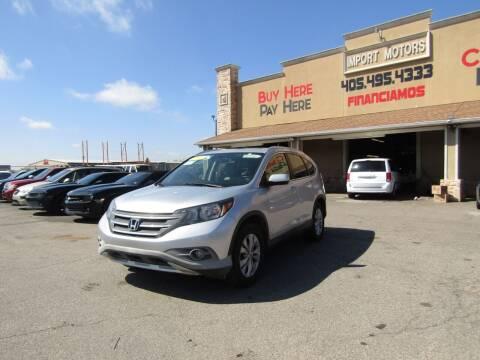 2013 Honda CR-V for sale at Import Motors in Bethany OK