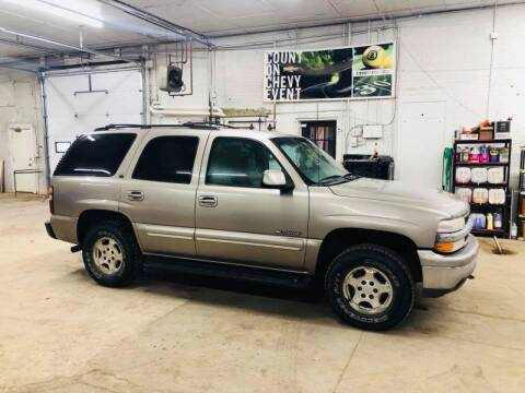 2001 Chevrolet Tahoe for sale at Car Corral in Tyler MN