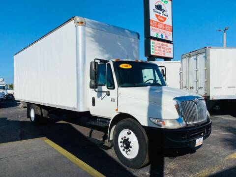 2007 International DURASTAR 4300 PRE EMISSION for sale at Orange Truck Sales in Orlando FL