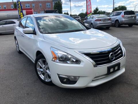2013 Nissan Altima for sale at Millennium Motors Sales in Revere MA