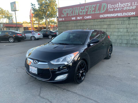 2013 Hyundai Veloster for sale at SPRINGFIELD BROTHERS LLC in Fullerton CA