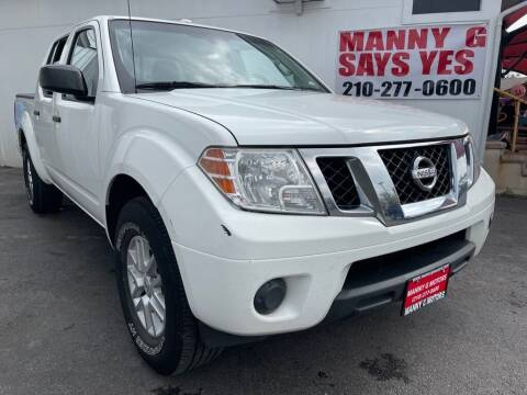 2015 Nissan Frontier for sale at Manny G Motors in San Antonio TX