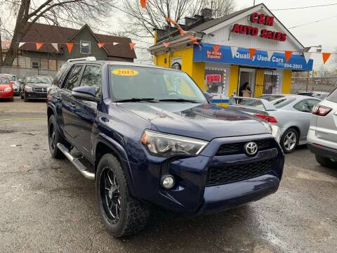 2015 Toyota 4Runner for sale at C & M Auto Sales in Detroit MI