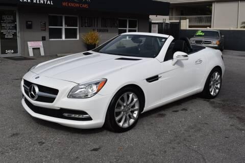 2016 Mercedes-Benz SLK for sale at DeWitt Motor Sales in Sarasota FL
