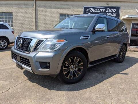 2017 Nissan Armada for sale at Quality Auto of Collins in Collins MS