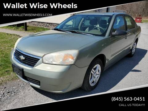 2006 Chevrolet Malibu for sale at Wallet Wise Wheels in Montgomery NY