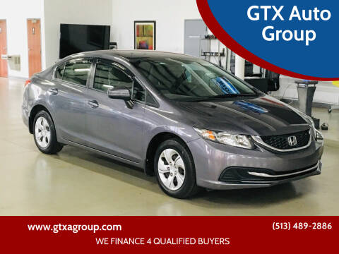 2015 Honda Civic for sale at GTX Auto Group in West Chester OH