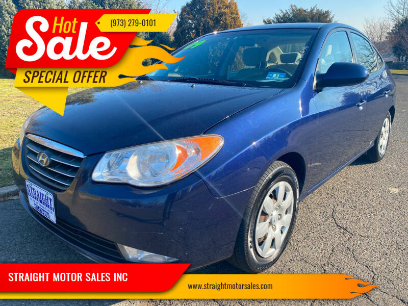 2009 Hyundai Elantra for sale at STRAIGHT MOTOR SALES INC in Paterson NJ