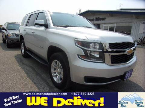 2019 Chevrolet Tahoe for sale at QUALITY MOTORS in Salmon ID