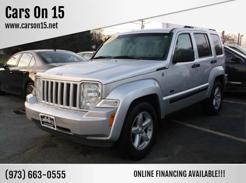 2009 Jeep Liberty for sale at Cars On 15 in Lake Hopatcong NJ