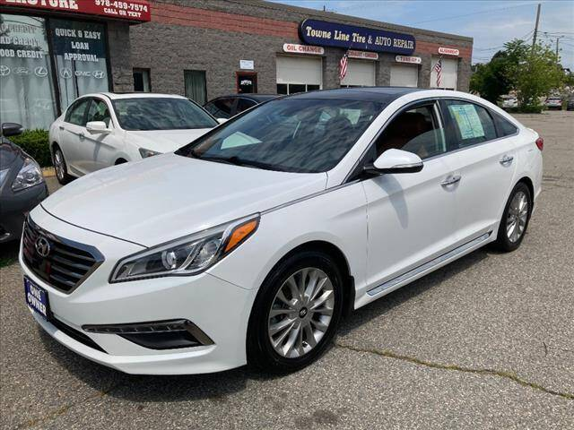2015 Hyundai Sonata for sale at AutoCredit SuperStore in Lowell MA