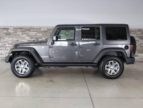 2017 Jeep Wrangler Unlimited for sale at Bud & Doug Walters Auto Sales in Kalamazoo MI