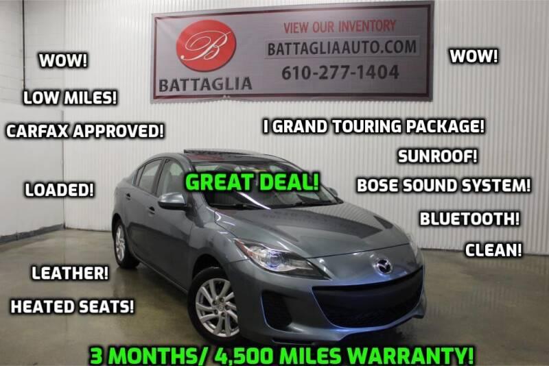 2012 Mazda MAZDA3 for sale at Battaglia Auto Sales in Plymouth Meeting PA