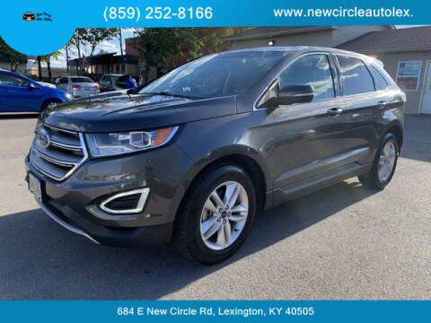 2016 Ford Edge for sale at New Circle Auto Sales LLC in Lexington KY