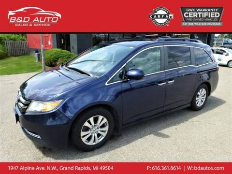 2014 Honda Odyssey for sale at B&D Auto Sales Inc in Grand Rapids MI