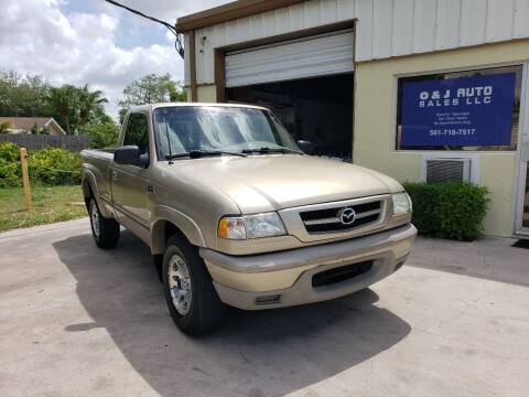 2002 Mazda Truck for sale at O & J Auto Sales in Royal Palm Beach FL