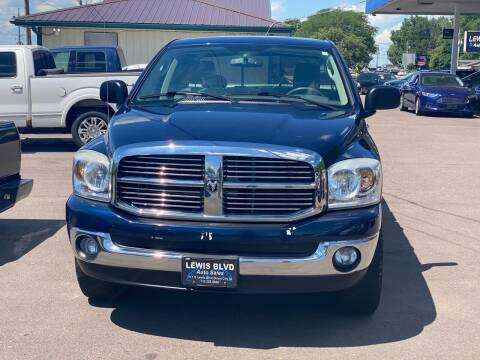 2008 Dodge Ram Pickup 1500 for sale at Lewis Blvd Auto Sales in Sioux City IA