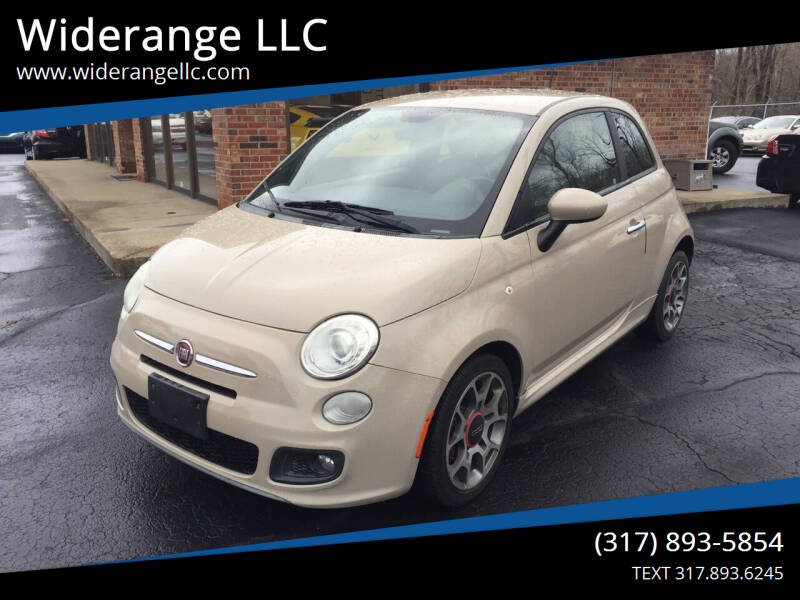 2012 FIAT 500 for sale at Widerange LLC in Greenwood IN