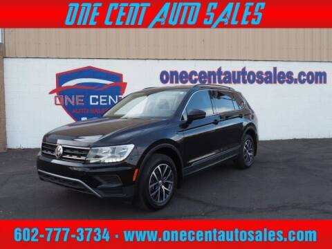 2018 Volkswagen Tiguan for sale at One Cent Auto Sales in Glendale AZ