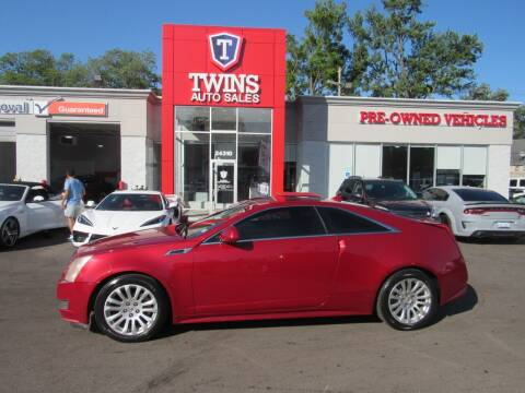 2012 Cadillac CTS for sale at Twins Auto Sales Inc in Detroit MI
