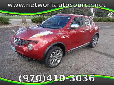 2012 Nissan JUKE for sale at Network Auto Source in Loveland CO
