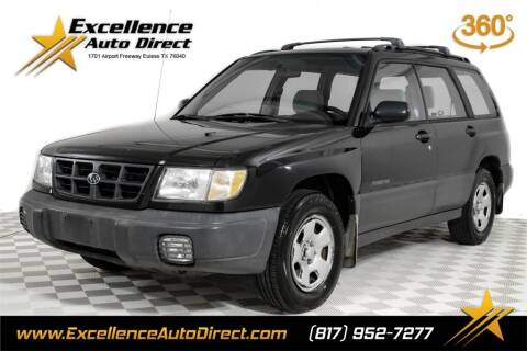 2000 Subaru Forester for sale at Excellence Auto Direct in Euless TX