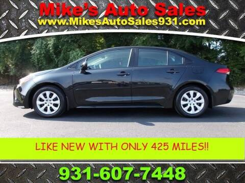 2021 Toyota Corolla for sale at Mike's Auto Sales in Shelbyville TN
