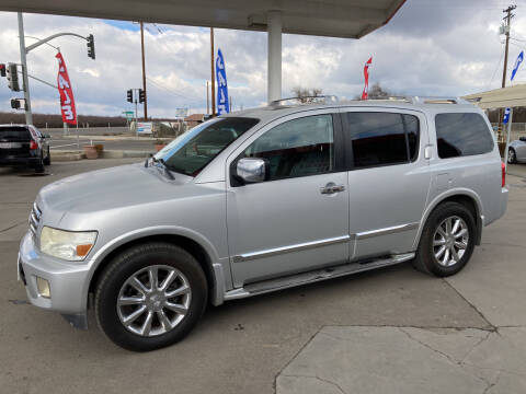 2007 Infiniti QX56 for sale at CONTINENTAL AUTO EXCHANGE in Lemoore CA