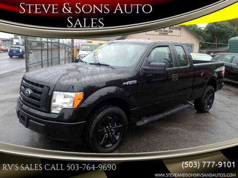 2012 Ford F-150 for sale at Steve & Sons Auto Sales in Happy Valley OR