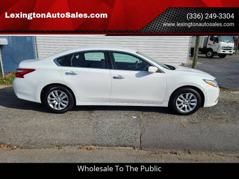 2017 Nissan Altima for sale at LexingtonAutoSales.com in Lexington NC