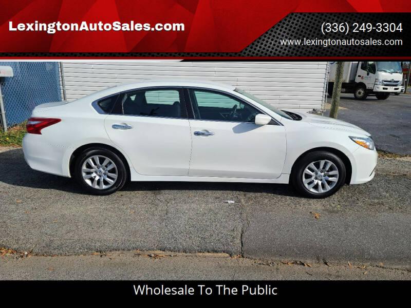 2017 Nissan Altima for sale at LexingtonAutoSales.com in Lexington NC