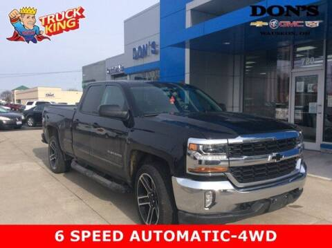 2016 Chevrolet Silverado 1500 for sale at DON'S CHEVY, BUICK-GMC & CADILLAC in Wauseon OH
