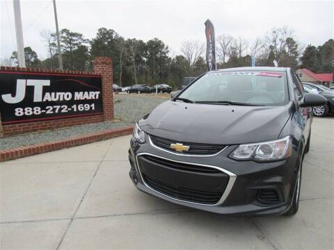 2018 Chevrolet Sonic for sale at J T Auto Group in Sanford NC