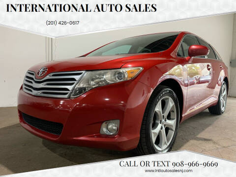 2012 Toyota Venza for sale at International Auto Sales in Hasbrouck Heights NJ