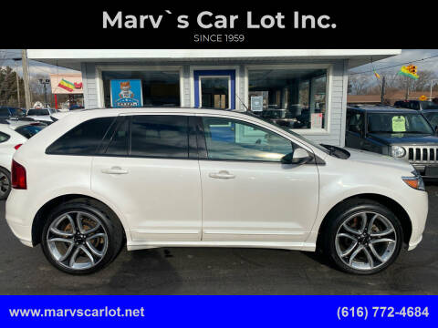 2014 Ford Edge for sale at Marv`s Car Lot Inc. in Zeeland MI