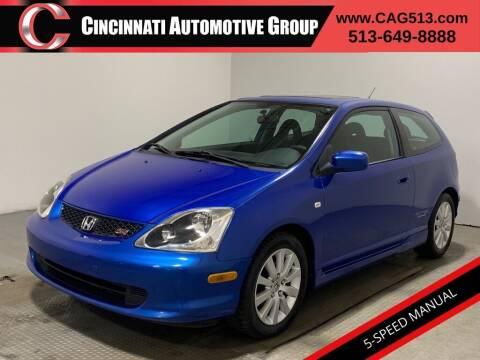 2005 Honda Civic for sale at Cincinnati Automotive Group in Lebanon OH