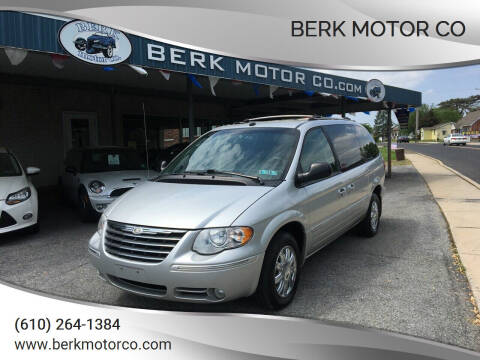 2005 Chrysler Town and Country for sale at Berk Motor Co in Whitehall PA