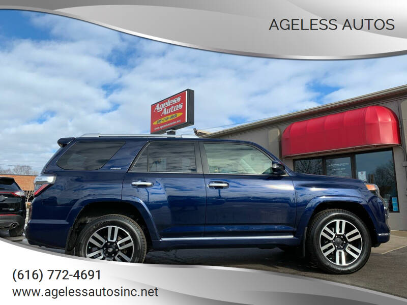 2014 Toyota 4Runner for sale at Ageless Autos in Zeeland MI