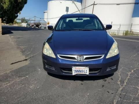 2006 Honda Accord for sale at Regal Autos Inc in West Sacramento CA