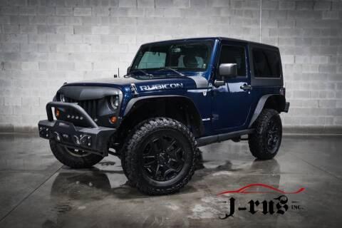 2013 Jeep Wrangler for sale at J-Rus Inc. in Macomb MI