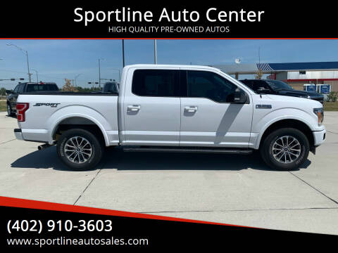 2018 Ford F-150 for sale at Sportline Auto Center in Columbus NE