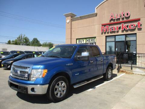 2013 Ford F-150 for sale at Auto Market in Oklahoma City OK