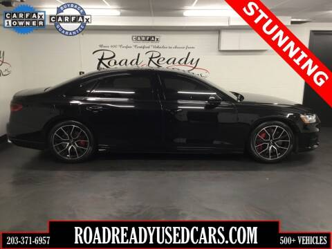 2020 Audi S8 for sale at Road Ready Used Cars in Ansonia CT