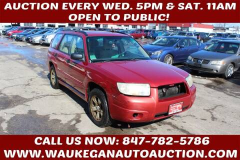 2006 Subaru Forester for sale at Waukegan Auto Auction in Waukegan IL